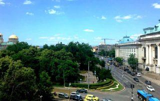 Софийският университет и катедралния храм