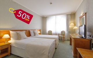 50% off the third night